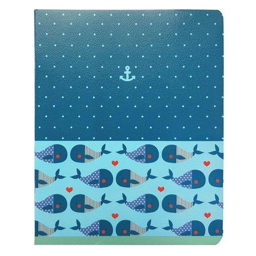 """Тетрадь """"Sea"""", 48 листов, в клетку, 16,5 х 20,3 см"""
