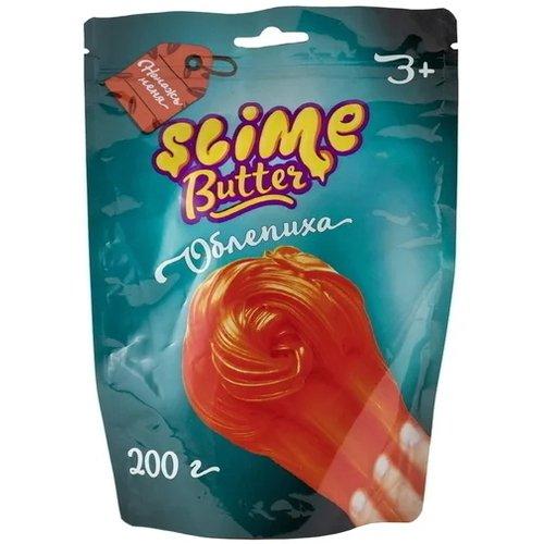 Фото - Слайм «Butter-slime с ароматом облепихи», 200 г развивающие игрушки slime cloud облачко с ароматом пломбира 200 г