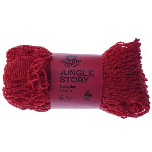 """Авоська """"String Bag"""", красная"""