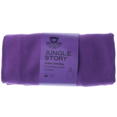 Фото - Плотная хлопковая сумка Shopper, фиолетовая сумка iriedaily original shopper black 700