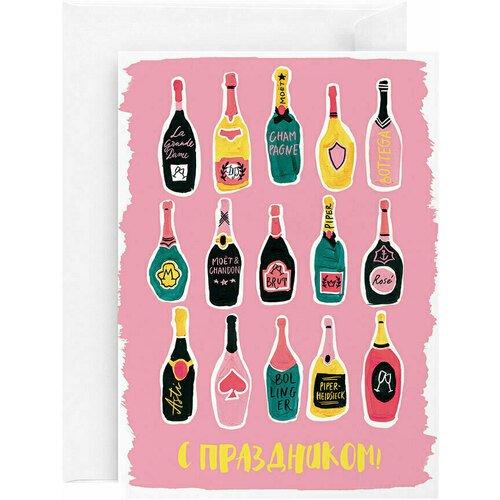 Открытка Винотека, 13 х 18 см открытка свадьба 13 х 18 см