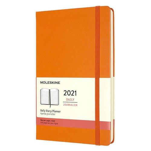 """Еженедельник датированный на 2021 """"Classic WKNT"""" Pocket, 144 страницы, оранжевый"""
