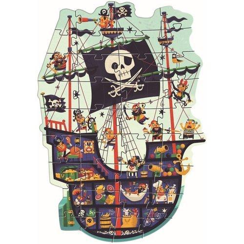 """Пазл-гигант """"Пиратский корабль"""", 36 деталей"""