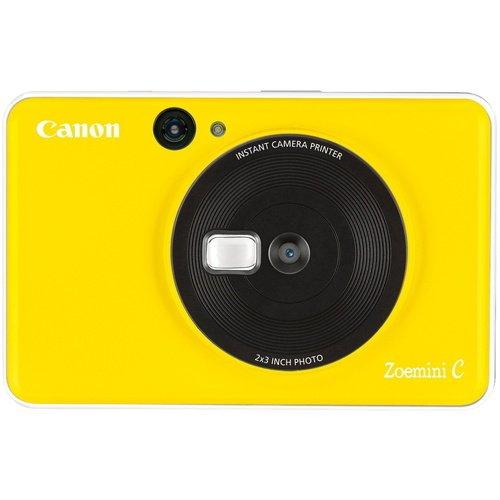 Фото - Камера моментальной печати Canon Zoemini C, жёлтая фотоаппарат моментальной печати canon zoemini c цвет морской волны