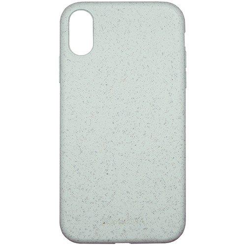 Биоразлагаемый чехол SOLOMA Case для iPhone XR, бледно-бирюзовый