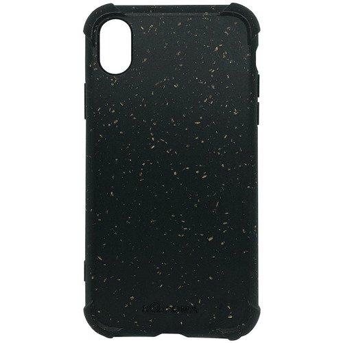 Биоразлагаемый чехол SOLOMA Case для iPhone XR с ударопрочными углами, темно-серый