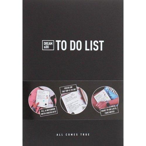 Блокнот c чек-листами Dream&Do ToDo list