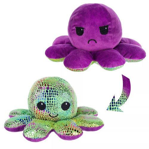 Мягкая игрушка Осьминожка 10 см, фиолетовая