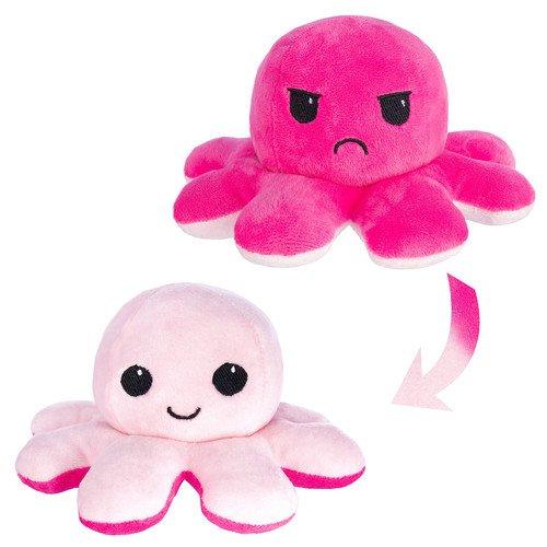 Мягкая игрушка Осьминожка 10 см, розовая