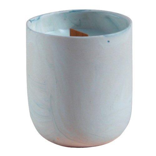 Свеча COSH, 250 мл, изумрудно-розовая