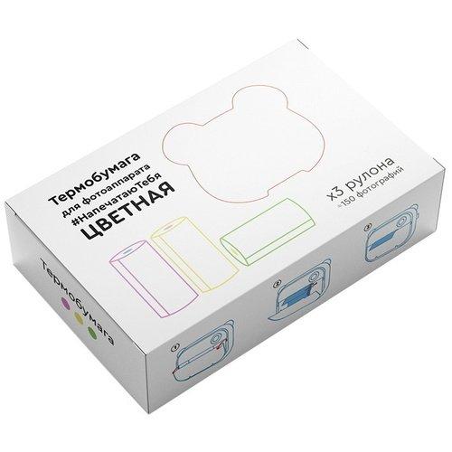 Фото - Термобумага для фотоаппарата LUMICAM DK03, 150 снимков, цветная фотоаппарат lumicam dk02 черный