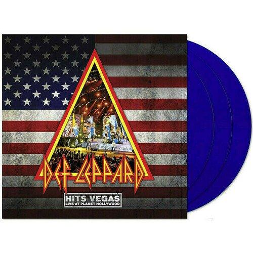 Виниловая пластинка Def Leppard – Hits Vegas. 3 LP