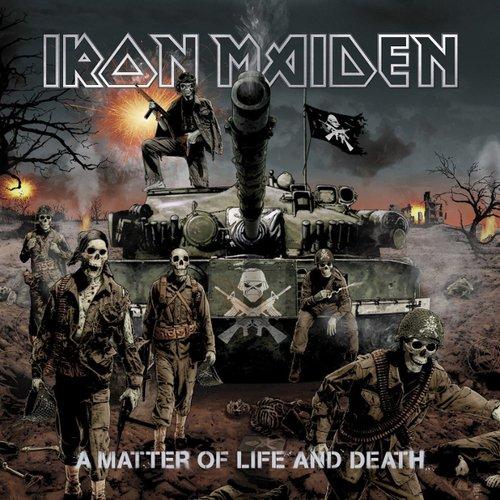 Виниловая пластинка Iron Maiden – A Matter Of Life And Death. 2 LP