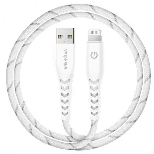 Фото - Кабель EnergEA NyloFlex USB-A to Lightning, 1.5 м кабель energea fibratough usb c lightning 3 м
