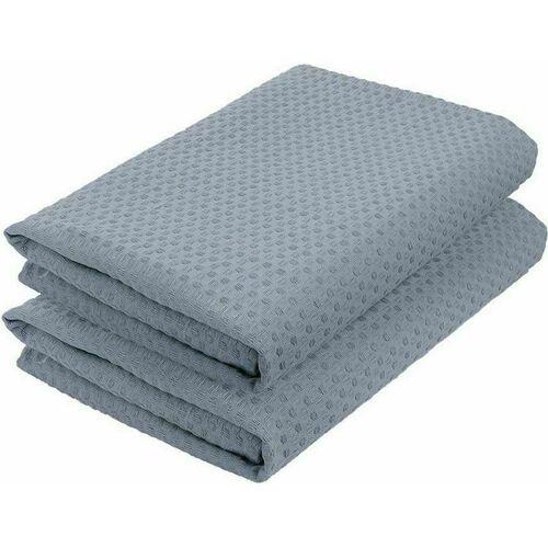 Комплект полотенец вафельных GoodNight 45x70 (2шт), серый