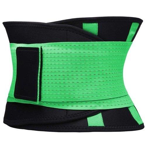 Фитнес пояс для похудения CleverCare, XL, зеленый