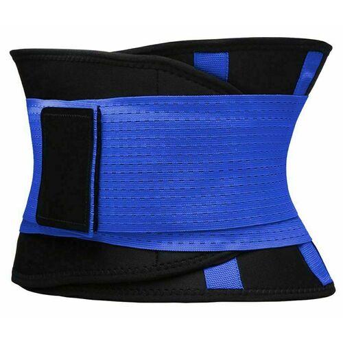 Фитнес пояс для похудения CleverCare, XL, синий