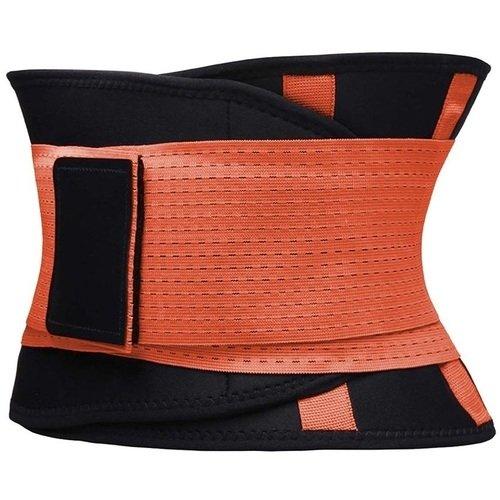 Фитнес пояс для похудения CleverCare, XL, оранжевый