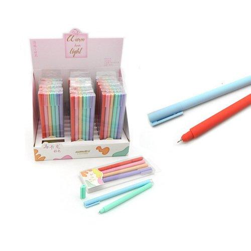 Ручки гелевые Orn CH-199 Однотонные 0.5 мм, 6 цветов