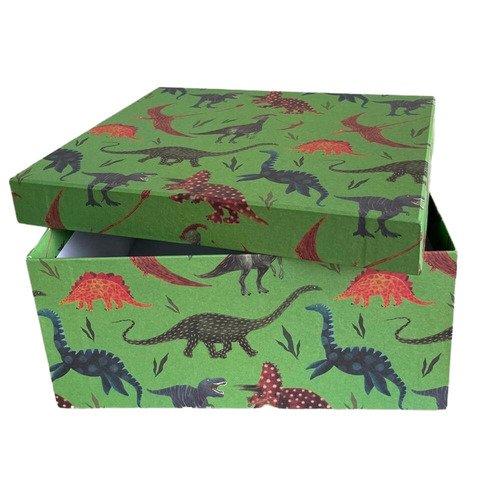 "Подарочная коробка Bummagiya ""Дино"", 21 х 15 х 7 см"