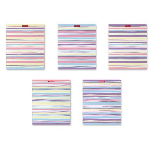 Тетрадь общая ученическая ErichKrause Pastel Lines, 48 листов в линейку