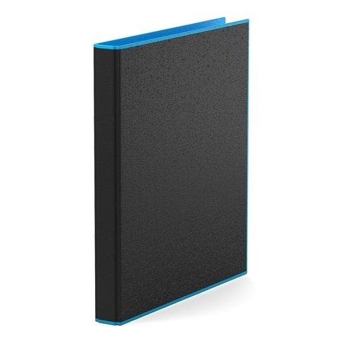 Папка–регистратор на 2 кольцах ErichKrause, Accent, А4, 35 мм, голубая